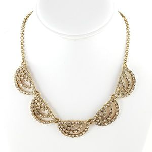 J. Crew Statement Necklace Rhinestones